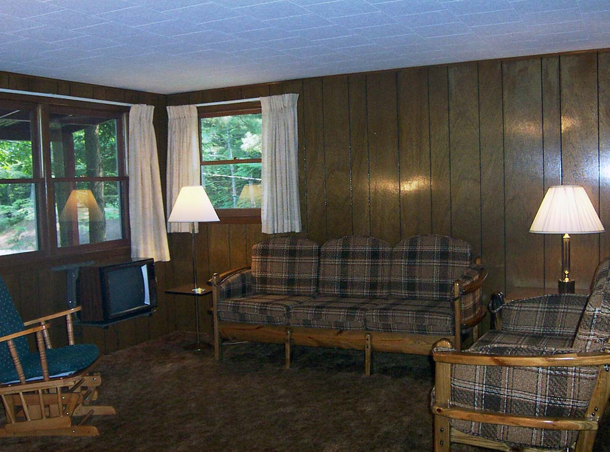 Interior of Cottages 1-16