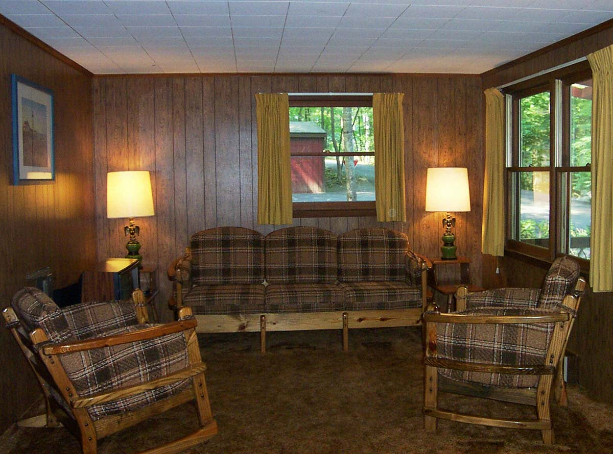 Interior of Cottages 17-24