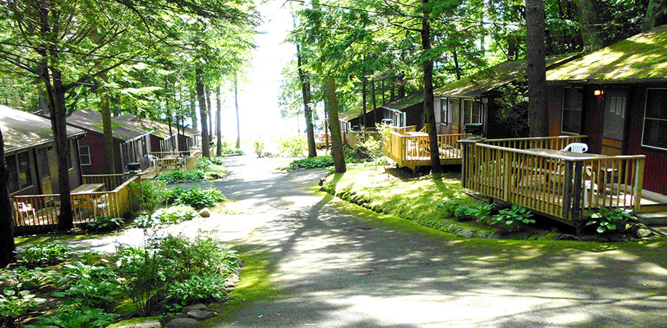Private Cottages on Lake George